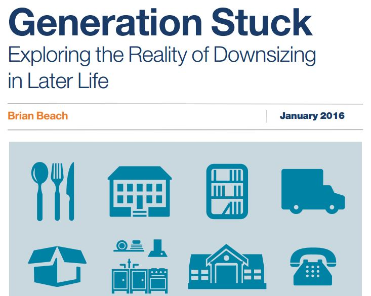 Generation Stuck: Exploring the Reality of Downsizing in Later Life