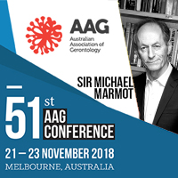 AAG National Conference 2018 @ Convention and Exhibition Centre, South Wharf