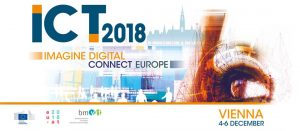 ICT 2018: Imagine Digital - Connect Europe @ AUSTRIA CENTER VIENNA | Wien | Wien | Austria